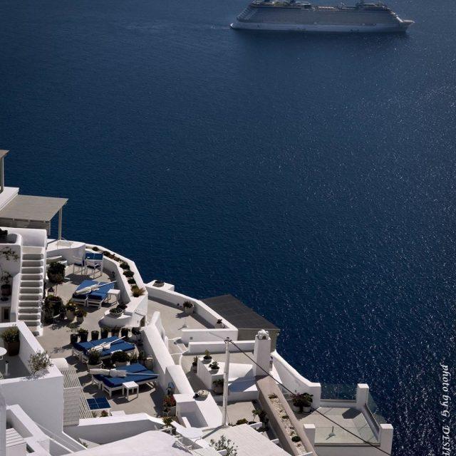 Santorini toursoncrete 1daycruise If want to visit Santorini with ushellip